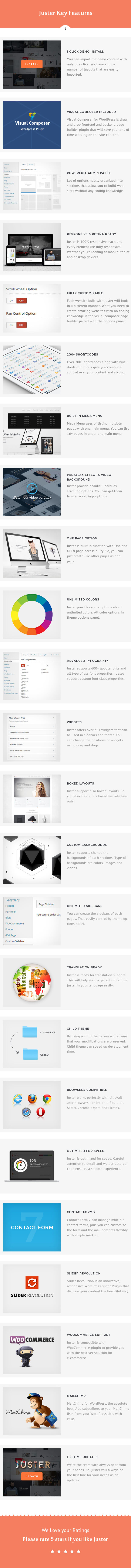 Juster - Multi-Purpose WordPress Theme - 13
