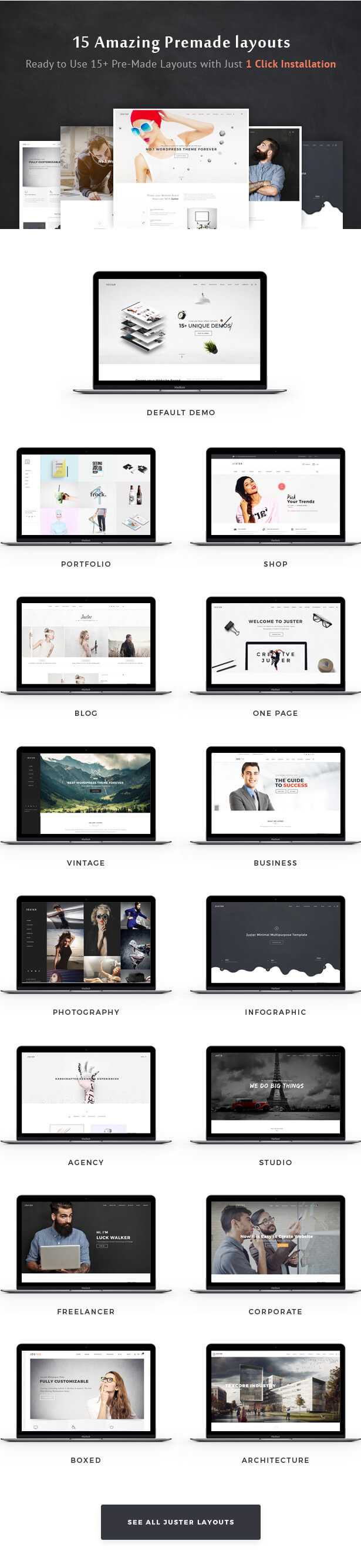 Juster Multi-Purpose WordPress Theme