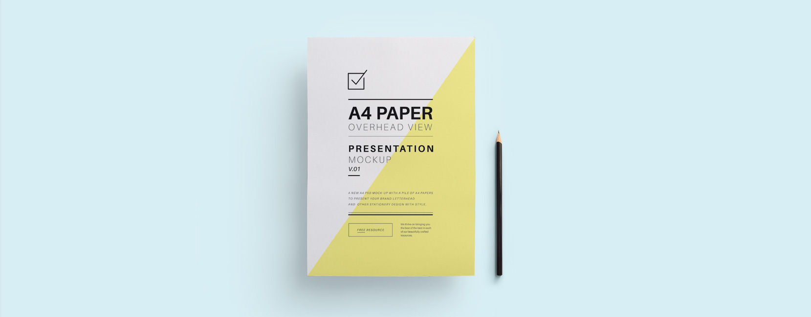 A4 Paper Overhead