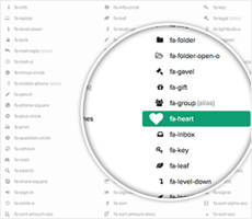 Font Awesome Integration
